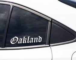 Bay Area Decal Etsy
