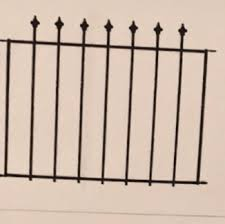 49 No Dig Black Powder Coated Steel Fence Panels Gate News Break Classifieds
