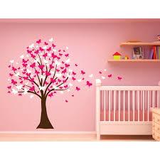 Innovative Stencils Butterfly Cherry Blossom Tree Baby Nursery Wall Decal Reviews Wayfair