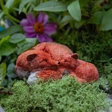 fairy garden fox ornament fairy
