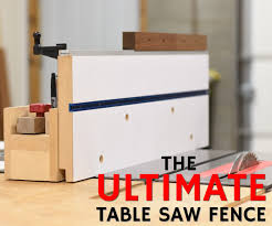 My Ultimate Table Saw Fence 13 Steps With Pictures Instructables