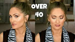 simple fall makeup look over 40 you