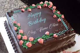 wishes on flowers and chocolate cakes