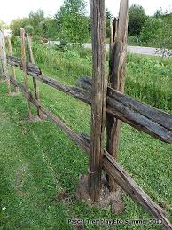 Building Split Rail Fence Landscaping With Rustic Rail Fence