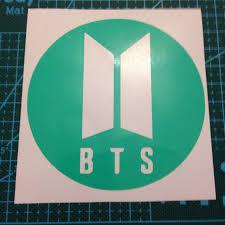 Mint Green Vinyl Bts Decal Sticker Approx Depop