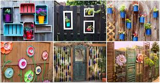15 Stupendous Diy Fence Decorations To Add Life And Color To Your Yard