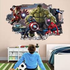 Pin On Superhero Wall Decals