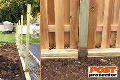 7 Fence Post Decay Protection Ideas Fence Post Fence Post Installation Post Frame Building