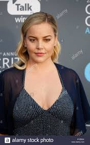 Abbie Cornish attends the 23rd Annual Critics' Choice Awards at Stock Photo  - Alamy