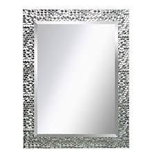 mirror trend silver mosaic design