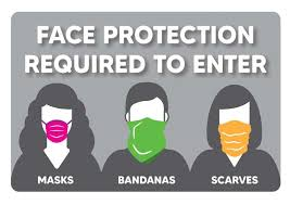 Face Mask Required Decal Face Covering Safety Sign