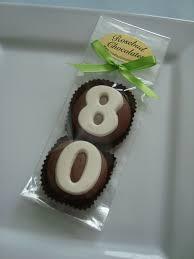 Milk Chocolate 80 Double Oreo Cookies Eighty 80th Birthday Party Favors Www Rosebudchocolates Com Fiesta Cumpleanos Celebracion