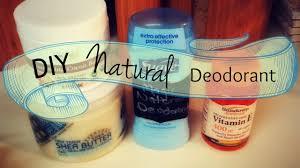 diy natural deodorant recipe without