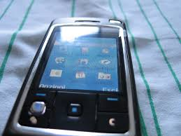Nokia 6260 - upside screen and os x ...