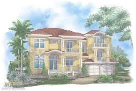 beautiful 3 story caribbean house plan
