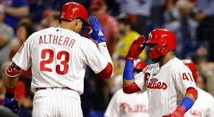 Aaron Altherr powers Phillies past Marlins 14-2 | KYW