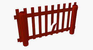 Cartoon Farm Fence 03 3d Model 15 Obj Fbx Dae Blend 3ds Free3d