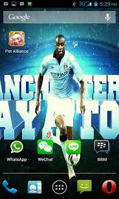 manchester city fc live wallpaper free