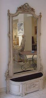 pretty antique wall mirrors large white
