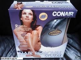 conair hair removal system legs