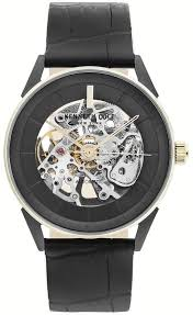 men s kenneth cole automatic skeleton
