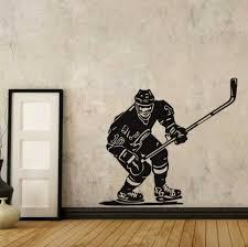 Hockey Wall Sticker Sportesi