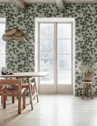 pine green sandberg wallpaper