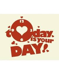 Amazing Holiday Deals On Style And Apply Today Is Your Day Wall Clock Wall Decal Saap1505 Color Dark Red