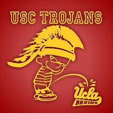 Usc Trojans Boy Peeing On Ucla Text Vinyl Die Cut Decal St