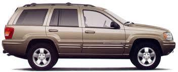jeep grand cherokee wj exterior