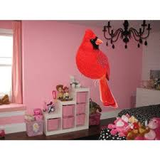 Shop Full Color Cardinal Full Color Decal Bird Full Color Sticker Wall Art Sticker Decal Size 33x52 33 X 52 Overstock 14330968