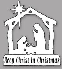 Keep Christ In Christmas Car Magnets Church Of St Clare