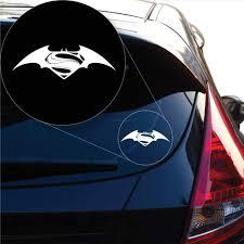 Transportation Batman Vs Superman Decal Sticker For Car Window Laptop And More 982 Unitransbahia Com Br