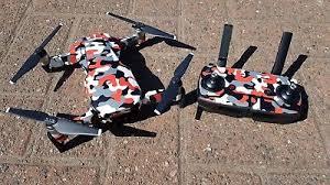 Dji Mavic Air Urban Camo Camouflage Twist Red Skin Wrap Decal Uk Made Ebay