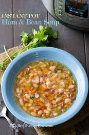 ham and bean soup recipe in instant pot