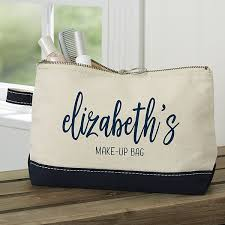 scripty name personalized makeup bags