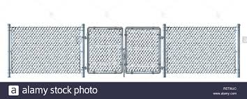 Chainlink Fence Door High Resolution Stock Photography And Images Alamy