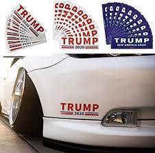 Trump Window Decal Gifts Trump 2020 Keep America Great 2 Go Party Usa Trump 2020 Bumper