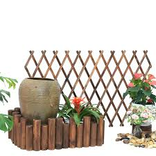 wooden fence patio backyard wood small