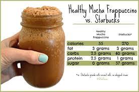 healthy mocha frappuccino vegan