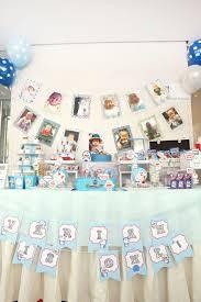 Doraemon Theme Dessert Candy Table Birthday Party Themes
