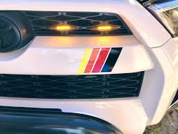 4runner Trd Grill Heritage Stripes Front Grill Red Orange Yellow Black In 2020 4runner Trd Toyota 4runner