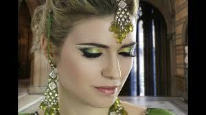 mehndi eye makeup tutorial saubhaya