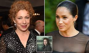 Ex-Doctor Who star Alex Kingston defends Meghan Markle amid ...
