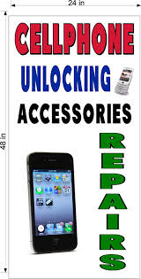 Amazon Com Cellphone Cell Phone Unlocking Repair You Choose Size Perforated Window Vinyl Decal 2 X 4 Vertical Office Products