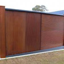Chippy S Outdoor Stocks The Z Tina Mini Orb Corrugated Rust Metal Sheets These Are A Fantastic Rustic Building A Deck Rustic Garden Fence Outdoor Living Areas