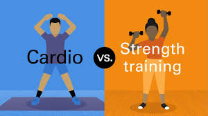 cardio vs strength what you