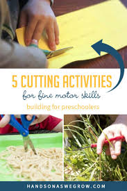 5 cutting activities for fine motor