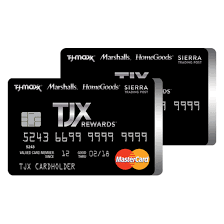 parison tjx rewards credit card and