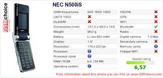 NEC N500iS :: GSMchoice.com